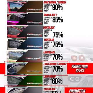 Tinted Magic Promosi