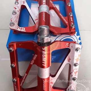 Sagmit Sealed Bearing Pedals *Aluminum Alloy* Model No. SM-105 Bike Pedals Bicycle Pedals MTB Pedals