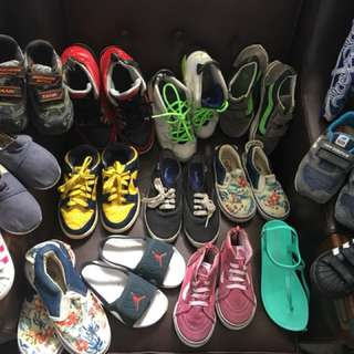 Assorted shoes for kids
