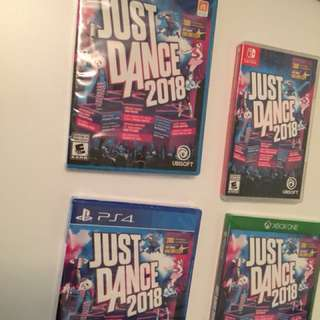Just Dance 2018 (New)