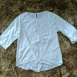 REPRICE : white blouse