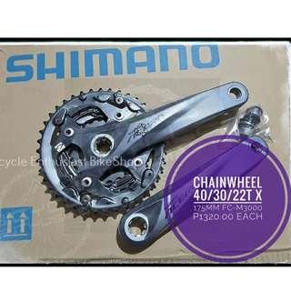 Shimano Crankset Crank set Chainwheel Acera/ Alivio/ Deore/ Slx/ Deore XT Bicycle Bike MTB