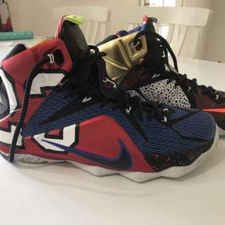 Lebron 12 What The