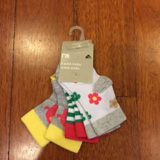 Mothercare baby ankle socks