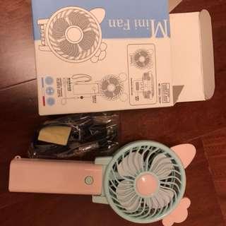 🚚 卡通usb充電隨身風扇