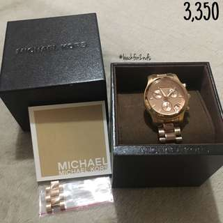 REPRICED: MK Watch (Authentic)