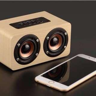 🚚 木質音箱