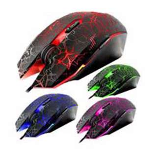 Gaming Mouse Changing 4 Colors For Computer Internet Shop Home Use Cash on delivery Nationwide Free Delivery in NCR Area