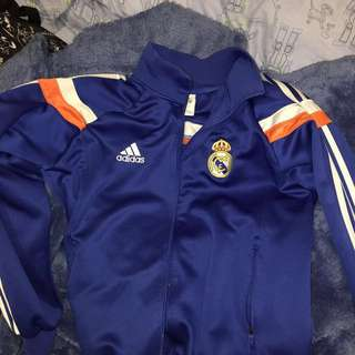 Blue Real Madrid adidas jacket
