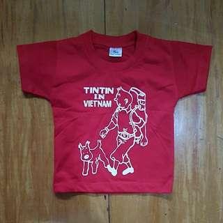 TINTIN IN VIETNAM SHIRT 1-2 YO