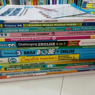 Primary 3 English Revision Books