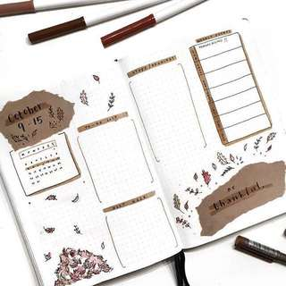 Bullet journal Ideas 💡