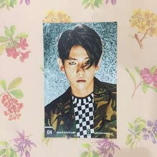 EXO's Baekhyun Power Postcard