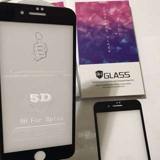 iPhone 7+ 8+ plus Mobile phone glass screen protector 電話保護貼 手機玻璃貼