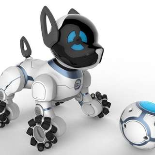 Wow Wee Robotic Dog. Interactive Dog that reacts to command. World's first robot Dog.