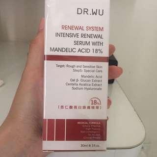 Dr Wu Intensive Renewal Serum