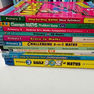 Primary 3 Maths Revision books