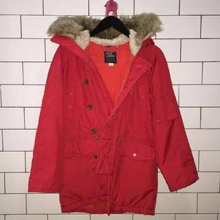 Red Coat / Parka