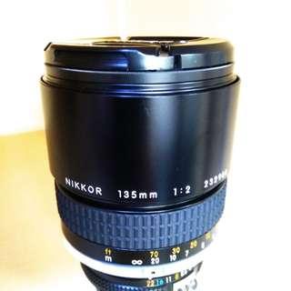 Nikkor 135mm f2