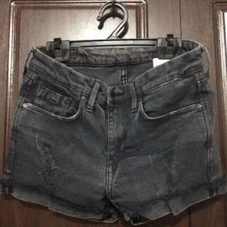 H&M highwaisted ripped shorts