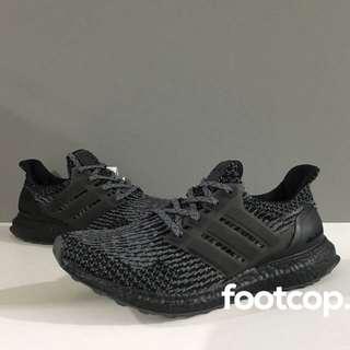 [SALE] Adidas Ultra Boost Triple Black Silver
