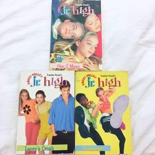 Get all for P200! Sweet Valley Jr. High