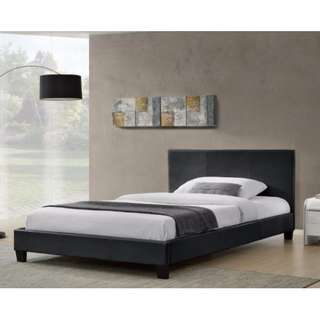 Brand new PU leather bed frame on sale Queen size