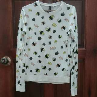 H&M DIVIDED Sushi Long Sleeve Tops