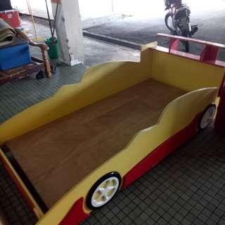 Katil Sport Car Kanak Kanak