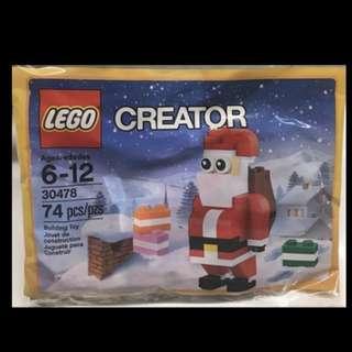 全新 Lego 30478 Jolly Santa