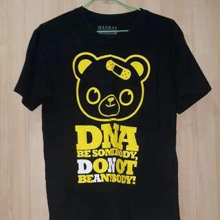 五月天DNA演唱會黑色T