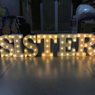 Lighted Letters