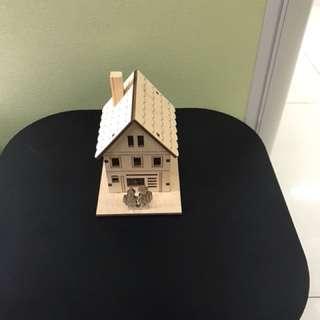 木製 聖誕 音樂盒