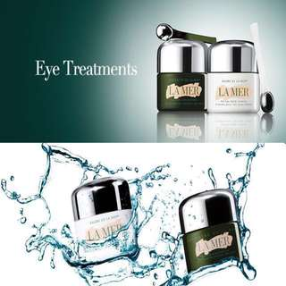 👀 La Mer The Eye Concentrate / The Eye Balm Intense / The Moisturizing Lotion