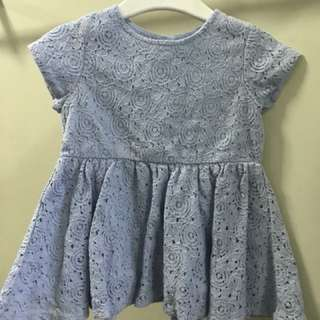 Gingersnaps Lace dress (6mos)