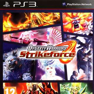 Dynasty Warriors Strike Force PS3