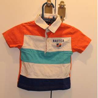 Nautica collar t-shirt