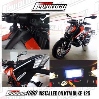 RevoCam 1080p 2017 Motorcycle Front + Back Camera - Ready Stock