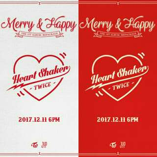 TWICE MERRY & HAPPY ALBUM