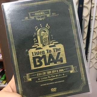 (WTS) B1A4 JAPAN TOUR DVD- LISTEN TO THE B1A4