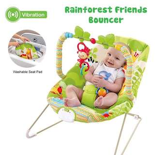 (🔥Free Postage🔥) Baby Rocker bouncer New Born Toddler Music Chair / Toddler Safety Belt