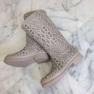 Crocs wellie Leopard prints boots