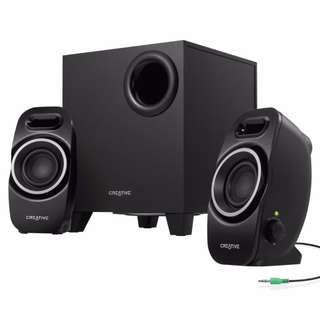 Creative Labs Speakers For PC MAC Computer Cellphone TV Loud Bass Free Delivery in All NCR Area Cash On Delivery Nationwide