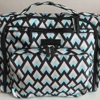 Jujube BFF Diaper Bag | Black Diamond Onyx