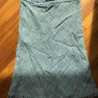Bcbg woven skirt size 4