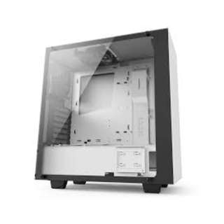 NZXT S340 Elite (Tempered Glass) Matte White