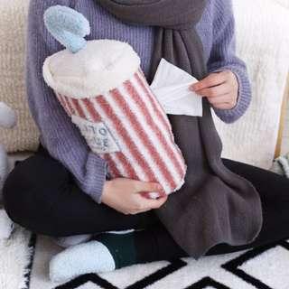 飲料造型面紙套 靠枕 全新未拆 #我的家飾可超取