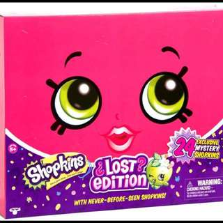 Shopkins Lost Edition Playset