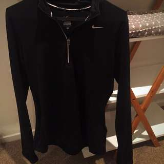 Nike long sleeve running top Small