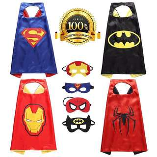 Superhero Cape With Mask For Kids